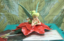 WDCC Delicate Daydreamer NLE Tinker Bell with Winter in Bloom event card NIB COA