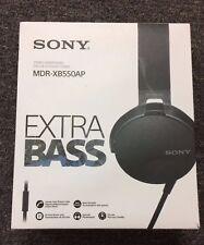 SONY MDRXB550AP/B Extra Bass On-Ear Headphone MDR-XB550AP BLACK - NEW