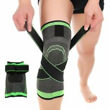 3D Weaving Knee Brace Breathable Support for Running Jogging Sports Size: Medium