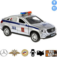 Diecast Metal Model Car Mercedes-Benz GLE Coupe Russian Police Toy Lights Sounds
