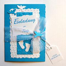 Einladungskarten Einladungen Einladung Zur Taufe Viele Farben T12