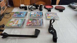Playstation 3 Kamera und Move Controller und 5 Spiele