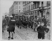1934 British Tommies Arrive to Police Saar Press Photo