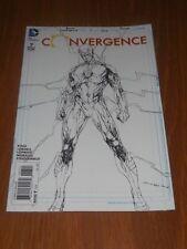 CONVERGENCE #7 DC COMICS FLASH SKETCH VARIANT NM (9.4)