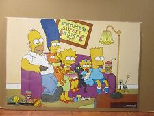 vintage The Simpsons sofa tv series poster 1997 6927