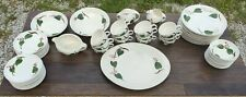 BLUE RIDGE SOUTHERN POTTERIES STANHOME IVY CHINA SET HUGE LOT MADE IN USA