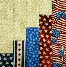 16 Pre-Sewn Already Pieced Miss Jessica Quilt Blocks ~ Americana Quilts of Valor