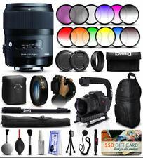 Objetivos Sigma Art F/1, 4 para cámaras