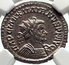 MAXIMIAN Authentic Ancient 289AD Lyons Genuine Roman Coin NGC Certified i70163