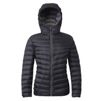 Women's Ultra Lightweight Hooded Packable Down Jacket Quilted Padded Puffer Coat