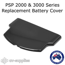 Black Back Battery Cover for Sony Playstation Portable PSP 2000 3000 Slim Series