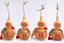 Natural Bottle Gourds Kai Guang Feng Shui Calabash Cucurbit Hanging Coin Mascot