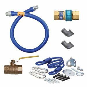 "Dormont 1675KIT48 Deluxe SnapFast® 48"" Gas Connector Kit"