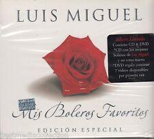 2 CD's -Luis Miguel CD EDICION ESPECIAL Mis Boleros Favoritos BRAND NEW