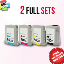 2 Full Sets of non-OEM Ink for HP Printer Officejet Pro 8500A (CM755A CM756A)