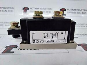NEW 1PCS MCC312-16IO1 IXYS THYRISTOR MODULE MCC31216IO1