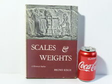 1966 Scales & Weights Bruno Kisch Historical Outline HB Book Yale Univ