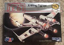 """STAR WARS RETURN OF THE JEDI 8""""  X-WING FIGHTER MODEL KIT ERTL MPC  MIB SEALED"""