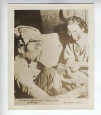 1945 Original Photo burn victims of Hiroshima Nuclear Atom Bombings World War 2
