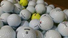 50 x MIXED GOLF BALLS PEARL / A GRADE PINNACLE TOP FLITE DUNLOP WILSON ULTRA