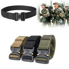 Outdoor Army Military Tactical Belt Mens Safety Nylon Male Combat Waistband