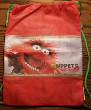 Muppets Animal Red Bag Subway Muppets Most Wanted Lunch Tote Backpack New unused