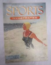 SPORTS ILLUSTRATED August 30, 1954 THIRD ISSUE 1st Swimsuit Ed PAMELA NELSON *