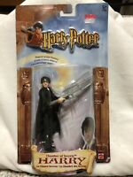 Harry Potter and the Chamber of Secrets HARRY Action Figure New In Box 2002