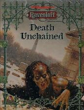 DEATH UNCHAINED RAVENLOFT SEALED Module #9523 Dungeons Dragons D&D AD&D TSR Game