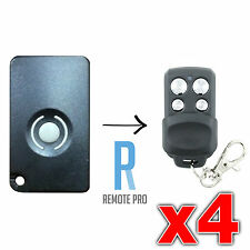 4 x HomEntry/Home Entry HE60/HE60R/HE4331/HE60ANZ Compatible Garage Remote