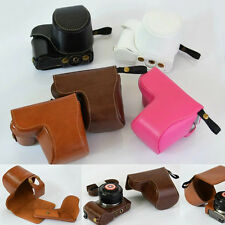 PU leather Digital Camera Bag For Sony A5000 A5100 NEX-3N Case Cover Pouch Skin