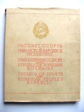 ÉPANOUISSEMENT DU SPORT DANS LA RÉPUBLIQUE POPULAIRE ROUMAINE / PROPAGANDE URSS