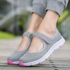 Женские легкие повседневные вязаная сетка кроссовки спортивные дышащие спорт бег