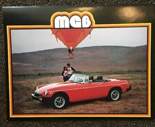 1979 MGB MG Brochure
