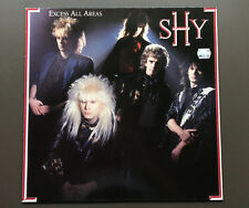 SHY - Excess All Areas Vinyl LP Record VG+ Condition 1987 UK Hard Rock