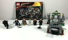 Lego Indiana Jones 7196 Chauchilla Cemetery Battle Complete Set with 5 Minifigs