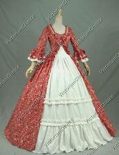 Renaissance Princess Colonial Period Floral Dress Gown Theater Wear N 257 XXXL