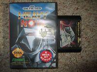 Heavy Nova  (Sega Genesis, 1991) w/ Case