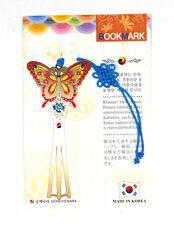 Traditional Korean reader Metal Bookmark - butterfly