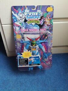 CYBER SAMURAI RAPH - Vintage Teenage Mutant Ninja Turtles - Sealed MOC - Raphael