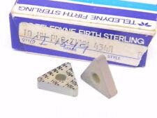New Surplus 10Pcs. Teledyne Tnmm 434A Grade: Hn+ Carbide Inserts