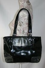 Icon Los Angeles tote bag purse Fashion Photography Patent genuine leather