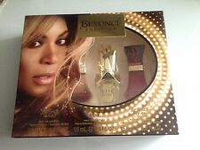Beyoncé Parfums 3x15ml Beyonce Heat, Rise And Heat Wild Orchid Gift Set Trio New