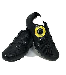 Boodun Mountain Bike Shoes Black Size 44 cycling