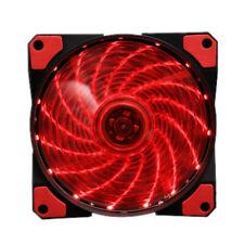 12V 120MM 4-Pin Silent Computer Case Cooler Heatsink PC LED Cooling Fan 12025