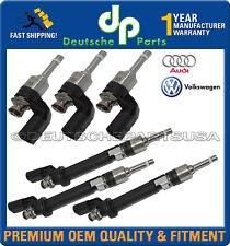 Véritable Audi Q7 VW cc Touareg 3.6 Supérieur + Bas Carburant Injecteur Set de 6