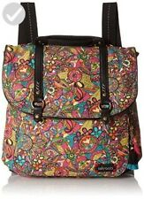 SAKROOTS Convertible Rucksack Backpack Satchel Bag Rainbow Spirit Desert Print