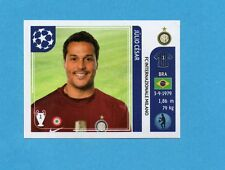 PANINI-CHAMPIONS 2011-2012-Figurina n.74- JULIO CESAR - INTER -NEW BLACK