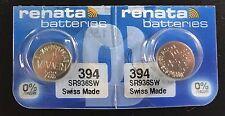 Batteries, 2 Pcs Renata 394 Sr936Sw