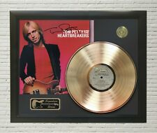 """Tom Petty Framed LP Record Reproduction Signature Display  """"M4"""""""